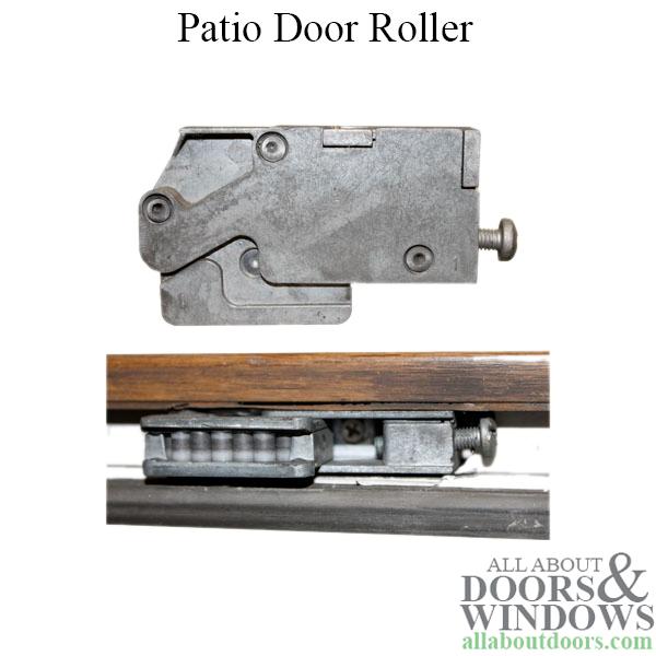 Door Roller Assemblies Tandem Wheels Glass Patio Door