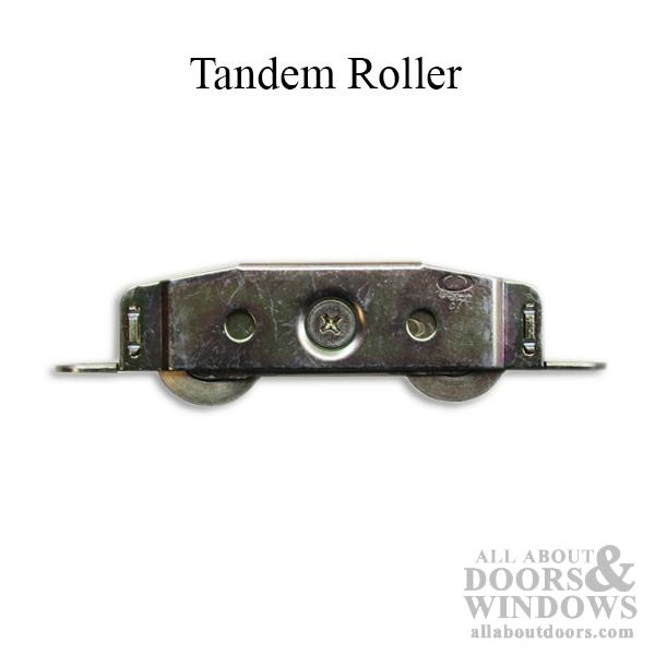 https www allaboutdoors com tandem roller 1 1 4 steel wheel sliding glass door roller