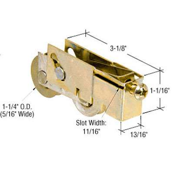 1 1 4 Inch Tandem Roller Assembly Steel