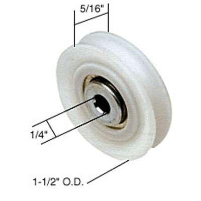 Roller Only 1 1 2 Dia Nylon Ball Bearing Wheel