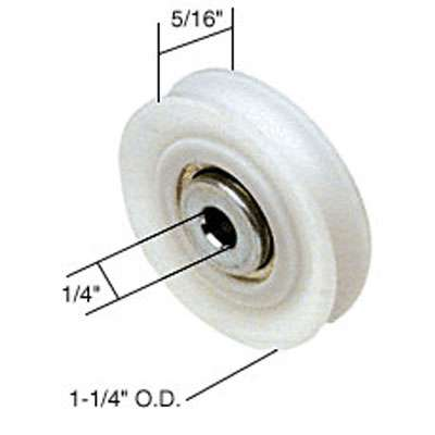 Roller Only 1 1 4 Dia Nylon Wheel