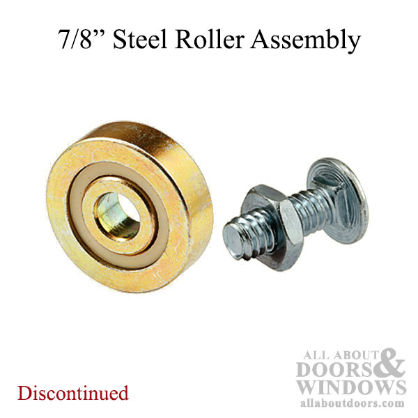 Discontinued 7 8 Inch Flat Edge Steel Ball Bearing