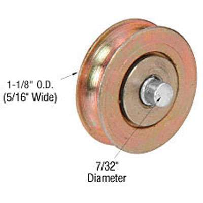 Roller Only 1 1 8 Dia Steel Fixed Axle Pin