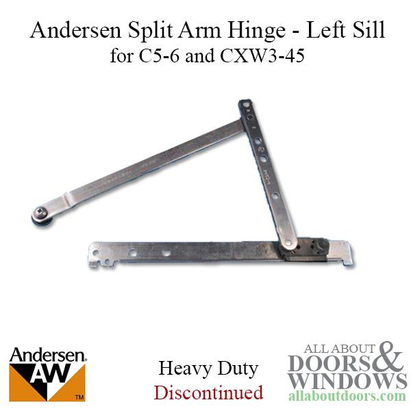 Enhanced Casement Split Arm Hinge Sill Left 1995 98