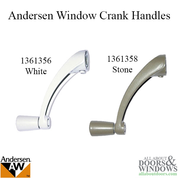 Andersen Window Improved E Z Casement Crank Handle