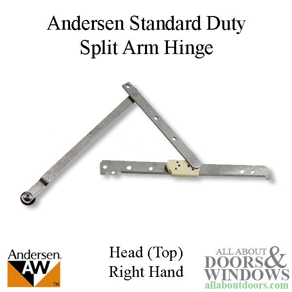 Head Hinge Right Standard Duty Andersen Enhanced
