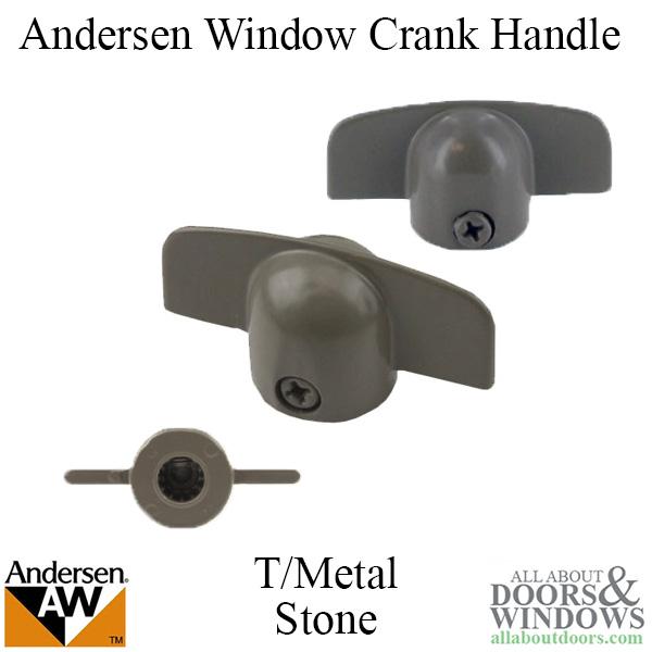 Andersen Window Improved E Z Casement Crank Handle T