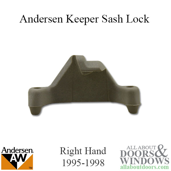 Andersen Keeper Sash Lock Enhanced Casement Rh