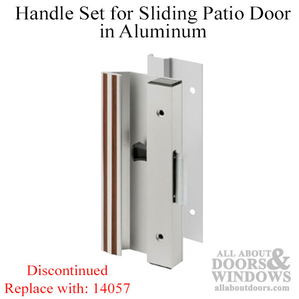 Discontinued Handle Set Sliding Patio Door Extruded