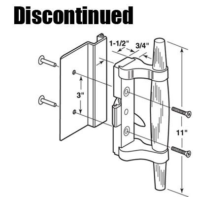 Handle Set Sliding Patio Door International Clamp