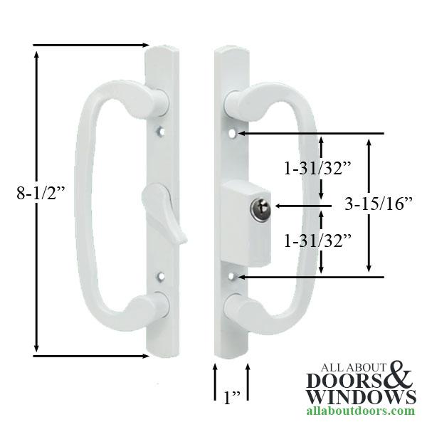 Locking Handles For Glass Sliding Door Patio Door Handleset