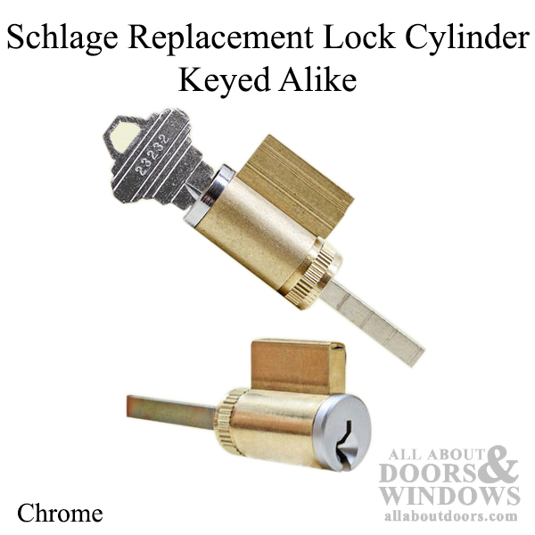 Schlage Locksets Keyed Alike Key Cylinder Replacement