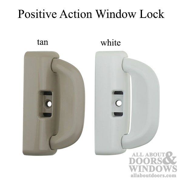 Milgard Tilt Window Latch Positive Action Single Hung