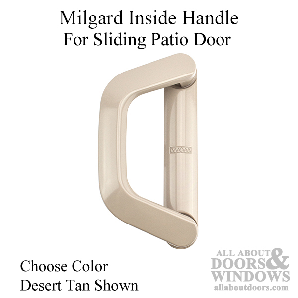 Milgard Inside Handle Classic Vinyl Sliding Door Choose