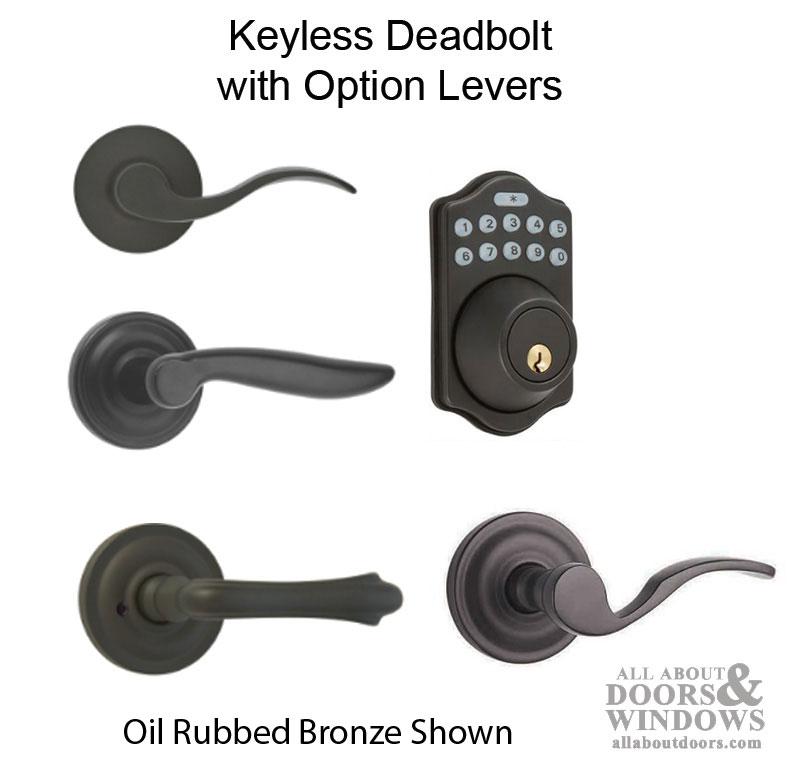 Keyless Multipoint Lock Deadbolt With Digital Keypad And Remote