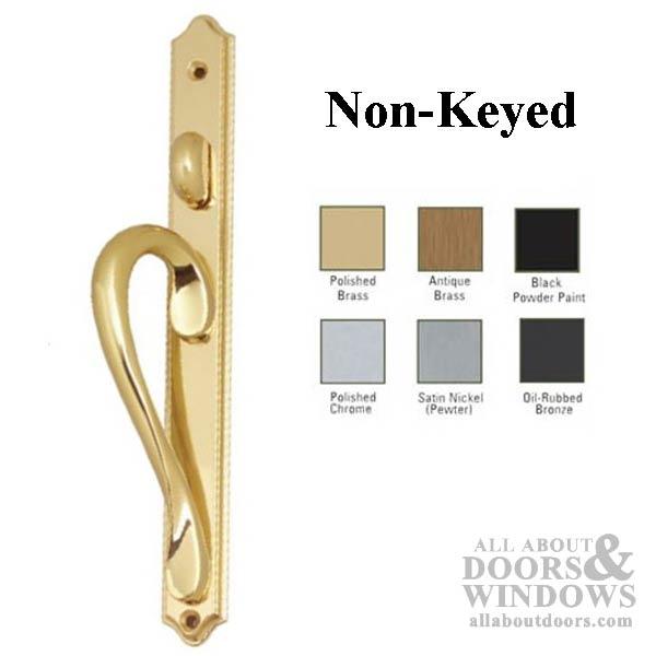 Inspirations Narrow Active Non Keyed Sliding Door Handle