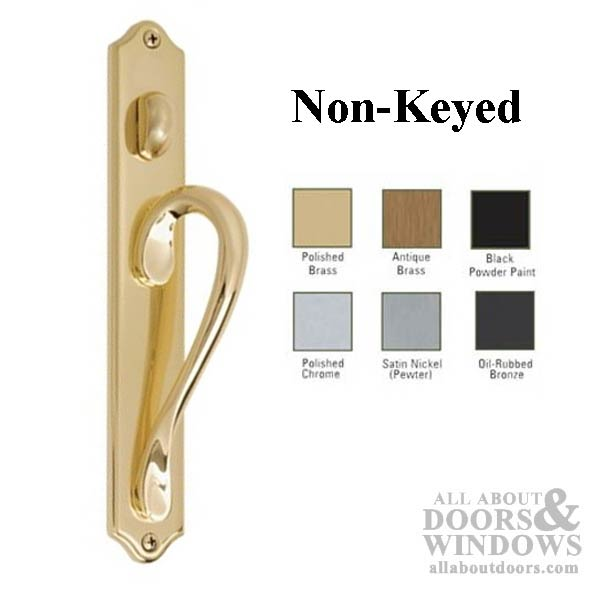 Inspirations Wide Arch Plate Active Non Keyed Sliding