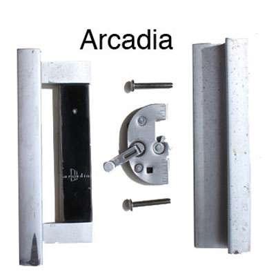 Arcadia Handleset Old Style, Arcadia Patio Door Parts