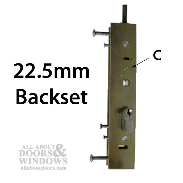 Certainteed Sliding Door Lock 22 5mm Euro Style Multi 2