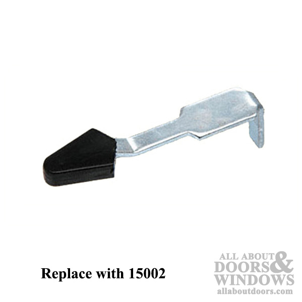 Discontinued 2 Inch Lever Latch With Black Plastic Tip