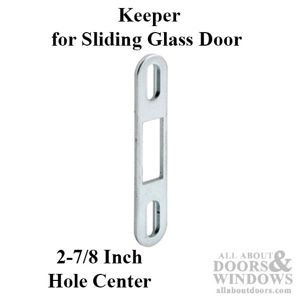 Door Keepers Strikes Glass Patio Door