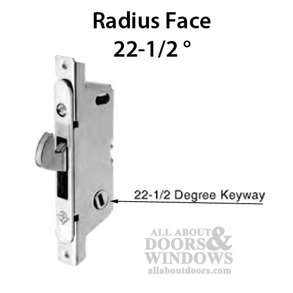 Adams Rite Mortise Lock 22 5 Degree Slot Round Face