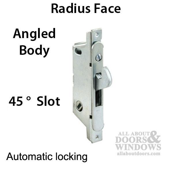 Adams Rite Mortise Lock 45 A Slot Auto Lock Sliding Patio Door