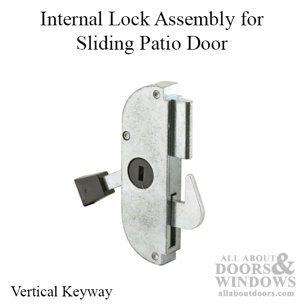 Arcadia Sliding Door Latch Mortise, Arcadia Patio Door Parts