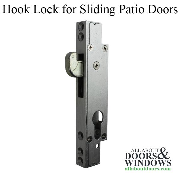Hook Lock For Sliding Doors Or Sliding Windows Latch