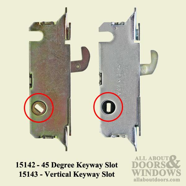 Common Mortise Lock Vertical Slot Metal Sliding Patio Doors W F