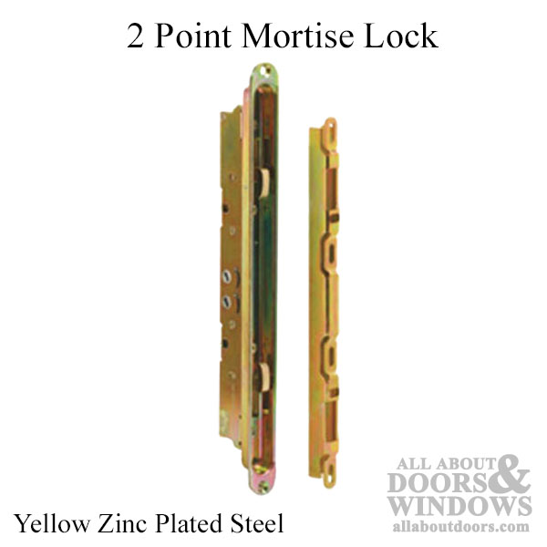 Dual Hook Mortise Lock Sliding Glass Patio Door Yellow