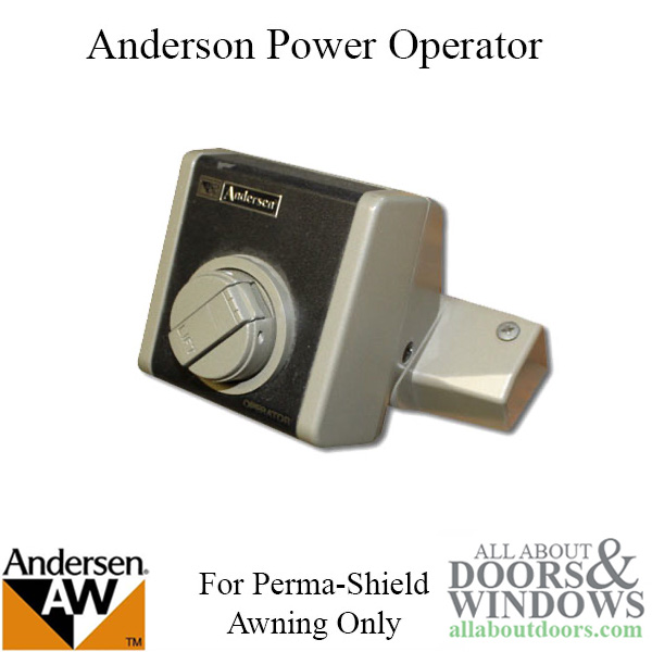 Andersen Power Supply For Electric Awning Roof Window