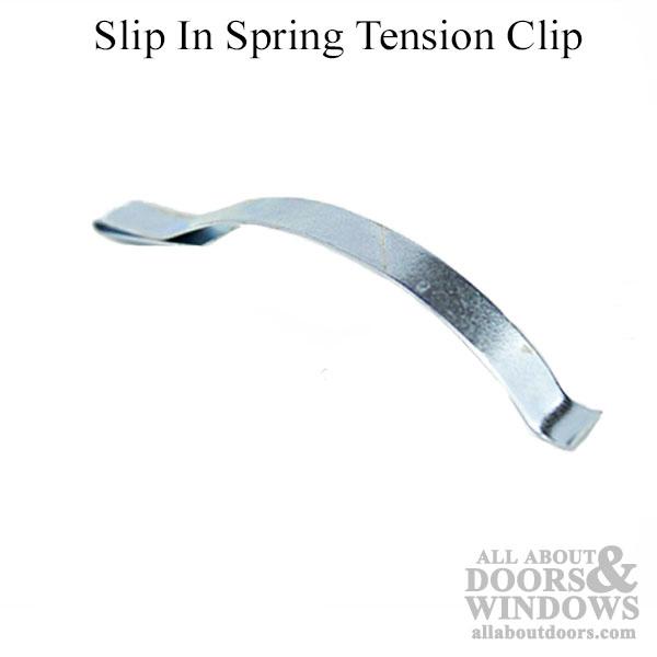 Slip In Spring Tension Clip 2 9 16