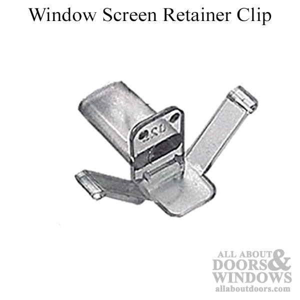 Window Screen Retainer Clip