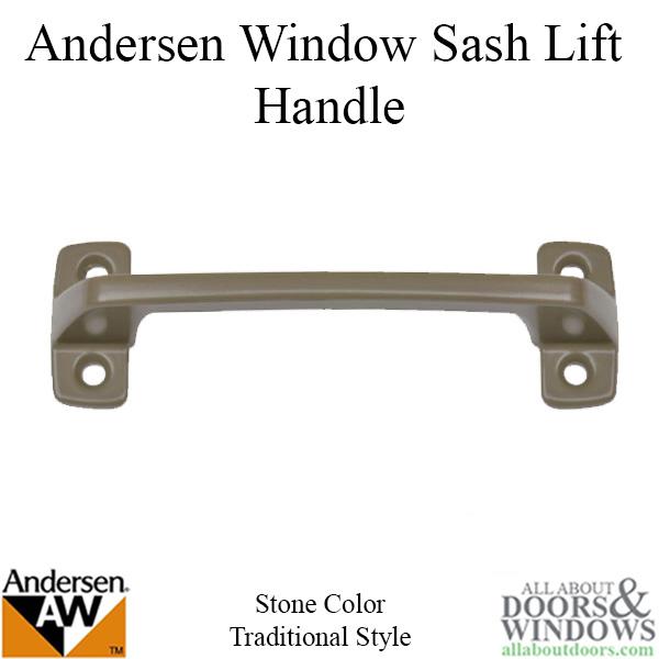 window sash lift weather stripping andersen window double hung sash lifthandle screw holes stone