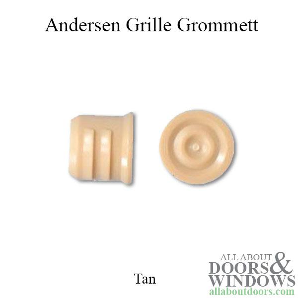 Andersen Grille Grommett Bushing Plug Cap Filler Tan