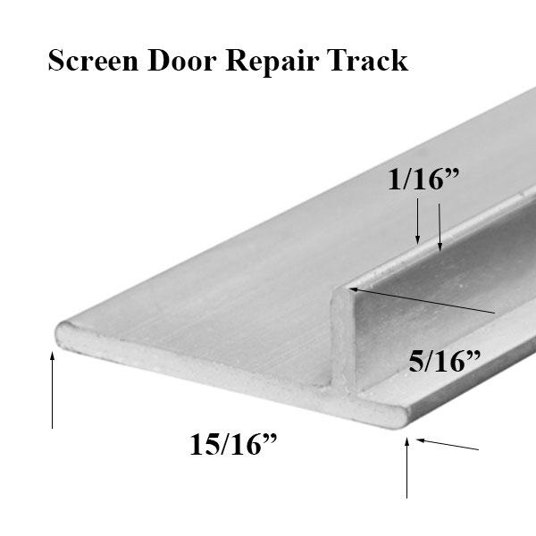 Screen Door Track Replacement Sliding Screen Door Track