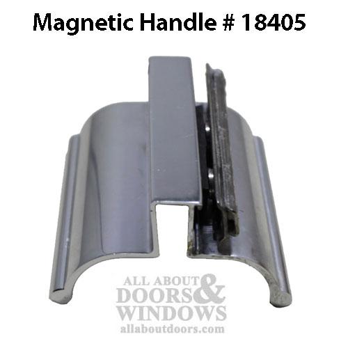 Shower Door Handle W Magnetic Catch Choose Color
