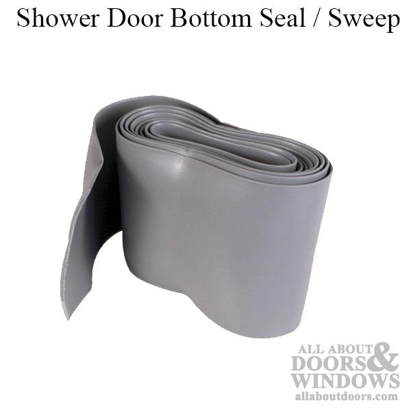 Shower door bottoms