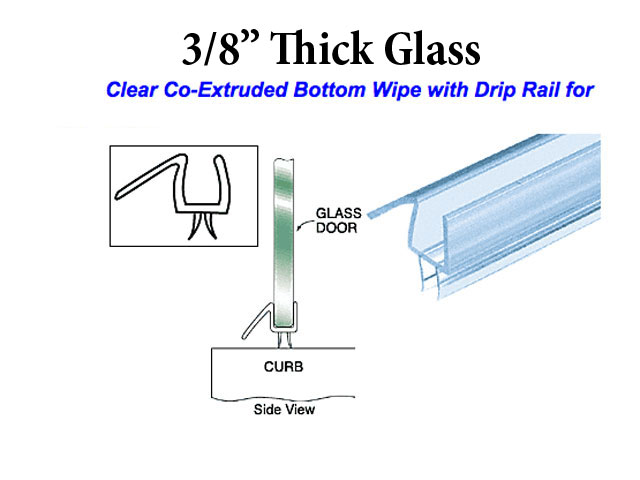 Shower Door Sweeps Shower Door Bottom Seal Shower Tub Parts