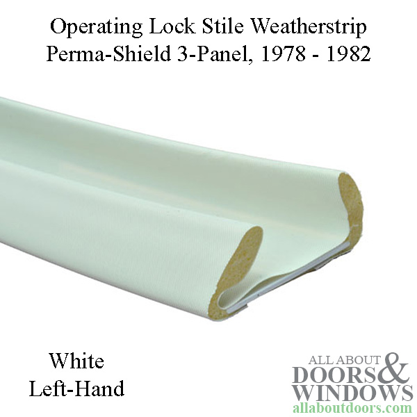 Andersen Perma Shield Gliding Door Weather Strip 3 Panel