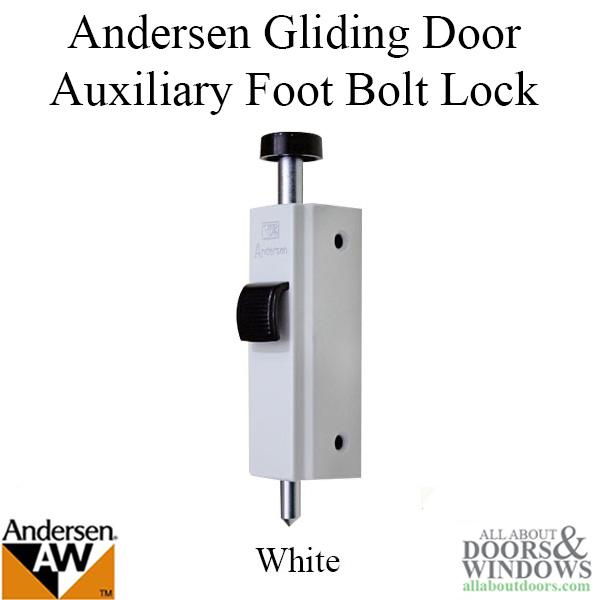 Andersen Foot Bolt Lock Door Floor Lock All About Doors