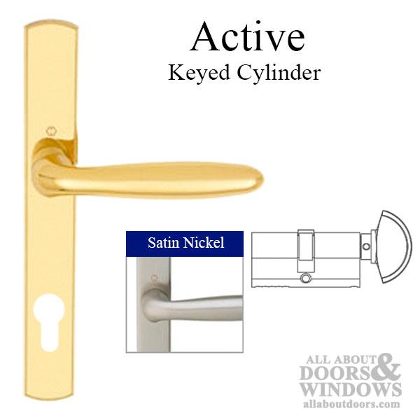 Hoppe Multipoint Lock Handleset Verona M151 216n Solid