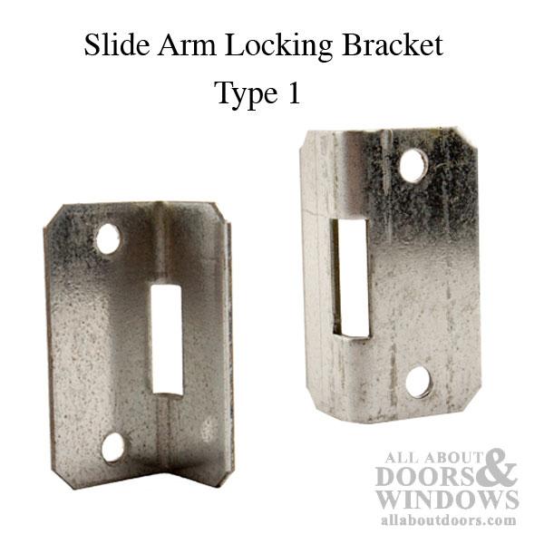 Slide Bar Bracket Overhead Garage Door Hardware Type 1
