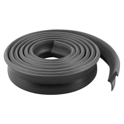 Vinyl Rubber Garage Door Bottom Seal Weatherstrip Black