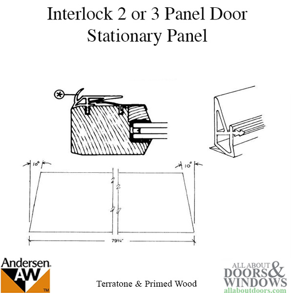 Unavailable Interlock 2 Or 3 Panel Stationary Panel Rh Or L
