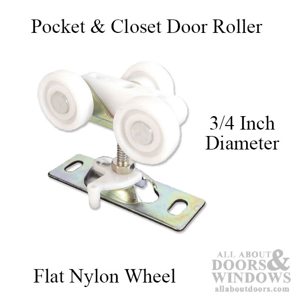 Pocket Door Multi Wheel Rollers Closet Door Rollers