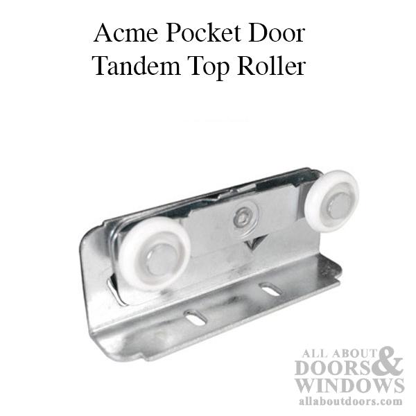 Pocket Door Rollers >> Acme 85 2 Wheel 7 8 Dia Top Hung Closet Pocket Door Roller