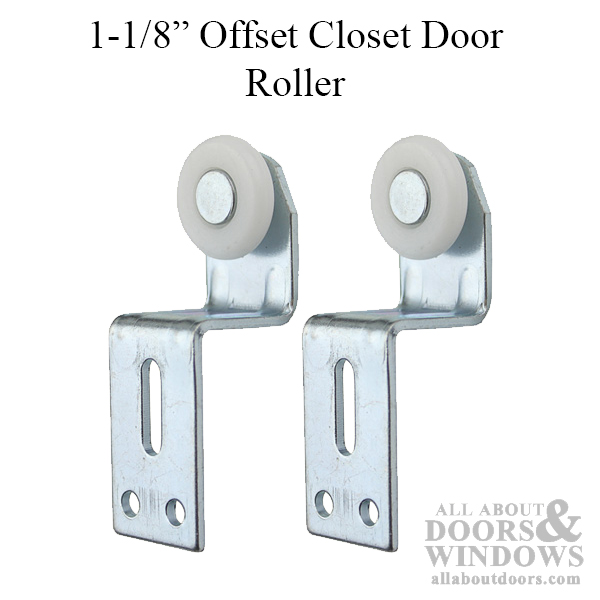 Cox Top Hung Closet Door Roller With 1 Inch Plastic Wheel