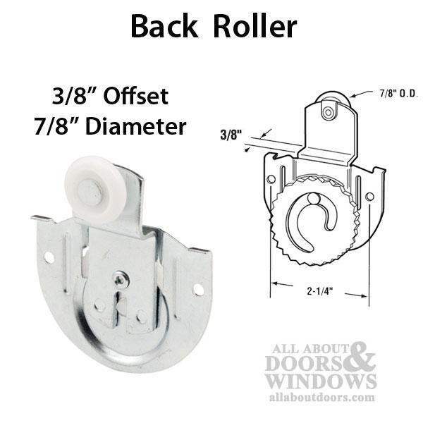 78 Wheel 38 Offset Acme 3100 Back Closet Door Roller